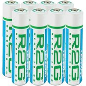 Lenmar - AAA Ready-To-Go Pre-Charged NiMH Batteries, 8 pack Wholesale Bulk