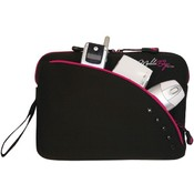 Ipad/Tblt 9In Black/Pink Slv