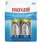 Maxell - Alkaline Batteries (C; 2 pack; Carded) Wholesale Bulk