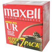 Maxell - Normal Bias Audio Tapes (7 pack) Wholesale Bulk