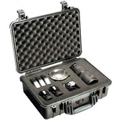Pelican - Case with Padded Divider (Model 1500; Dim: 16.75'L x 11.18'W x 6.12'H) Wholesale Bulk