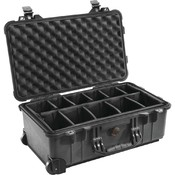 Pelican 1510 Case W /Padded Divider Wholesale Bulk