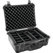Pelican - Case with Padded Divider (Model 1520; Dim: 18.06'L x 12.89'W x 6.72'H) Wholesale Bulk