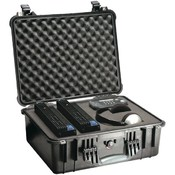 Pelican - Case with Padded Divider (Model 1550; Dim: 18.43'L x 14'W x 7.62'H) Wholesale Bulk