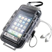 Pelican - iPhone /iPod touch i1015 Case (Clear with Black Liner) Wholesale Bulk