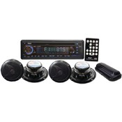 Marine Single-Din 4-Speaker Cd/Usb/Mp3/Combo With Stereo Cover Wholesale Bulk