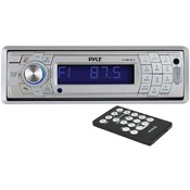 Marine Single-Din In-Dash Mechless Receiver With Detachable Face & Bluetooth (Silver) Wholesale Bulk