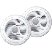 6.5' Dual Cone Waterproof Stereo Speakers (White) Wholesale Bulk