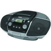 Rca - Portable CD Boom Box with Cassette Player Wholesale Bulk