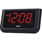Rca 1.4In Red Display Clock Wholesale Bulk