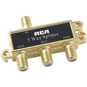 Rca Three-Way Splitter Wholesale Bulk
