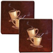 Range Kleen Hot Pad 'Coffee' Kovers, 2 Pack Wholesale Bulk