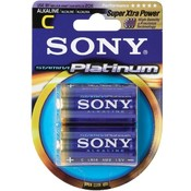 Sony Alkaline Platinum Battery C 2Pack Wholesale Bulk