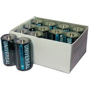 Universal Battery UPG - Super Heavy-Duty Battery Value Box (C; 24 pack) Wholesale Bulk