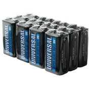 Universal Battery 12 Pack  9 V Heavy Duty
