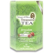 Mount of Olives Treasures Jerusalem Mint with PomegranateTea