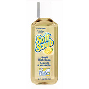 Soft Scrub Citrus Scent Liquid Dish Soap 2 Ounce
