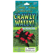 Club Earth Crawly Wally Wall-Walking Spider