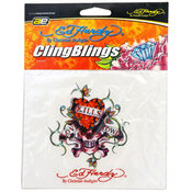 Ed Hardy Love Kills Slowly Cling Blings Decal Decorative Wholesale Bulk