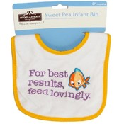 Mom To Mom Sweet Pea Infant Bib