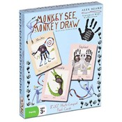 Alex Beard Monkey See, Monkey Draw Flash Cards