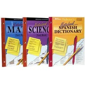 Educational Reference Notebook Assortment