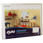 Expo Organize Magnetic Dry Erase Calendar Board