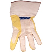 Ansell Kevlar Palm Cotton Back Yellow Cuff Glove