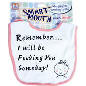 Smart Mouth Baby Bibs With Attitude! Assortment