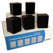 Memorex 5 Piece Surround System Speakers