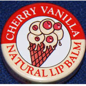 Candy Kisses Cherry Vanilla Natural Lip Balm