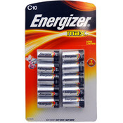 Energizer Max C Battery 10 Pack Wholesale Bulk