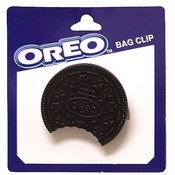 Oreo Cookie Bag Clip