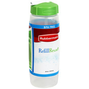 Rubbermaid Refill Reuse 20 Ounce Clear Sip Bottle