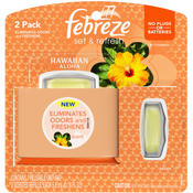 Febreze 2 Pack Set & Refresh Hawaiian Aloha Air Freshener Wholesale Bulk