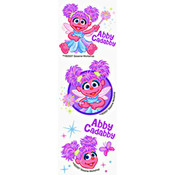 Sesame Street Abby Cadabby 12 Count Tattoos