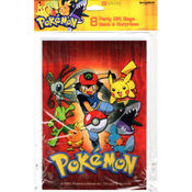 DesignWare 8 Count Pokemon Party Gift Bags