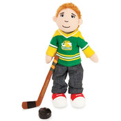 Boysterous Boys Slap Shot Sam Hockey Player Figure