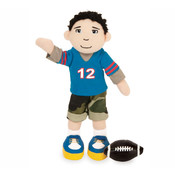 Boysterous Boys Touchdown Dillon Football Player Figure