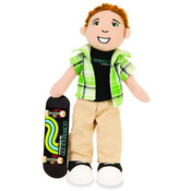 Boysterous Boys Halfpipe Pete Skateboarder Figure