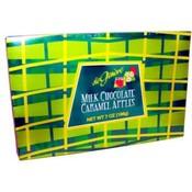 DeGeneve Milk Chocolate Caramel Apples(Pack of 12)