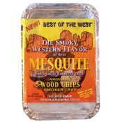 Mesquite Disposable Wood Chips Smoker Tray