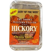 Hickory Disposable Wood Chips Smoker Tray