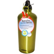 Distinction Green Ripple Aluminum Hydration Bottle Wholesale Bulk