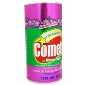 Comet Lavender Kitchen Cleanser Spanish Label