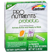 Centrum Pro Nutrients Probiotic 14 Packets