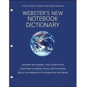 Websters New Notebook Dictionary
