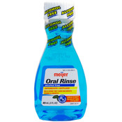 Meijer Travel Size Alcohol Free Oral Rinse