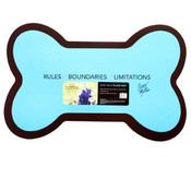 Cesar Millan Dog Whisperer Non-Skid Blue Place Mat