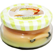 Graham Cracker Crust Key Lime Pie Scented Candle Jar